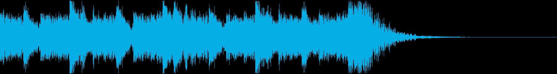 ディストピア感溢れるギターインストの再生済みの波形