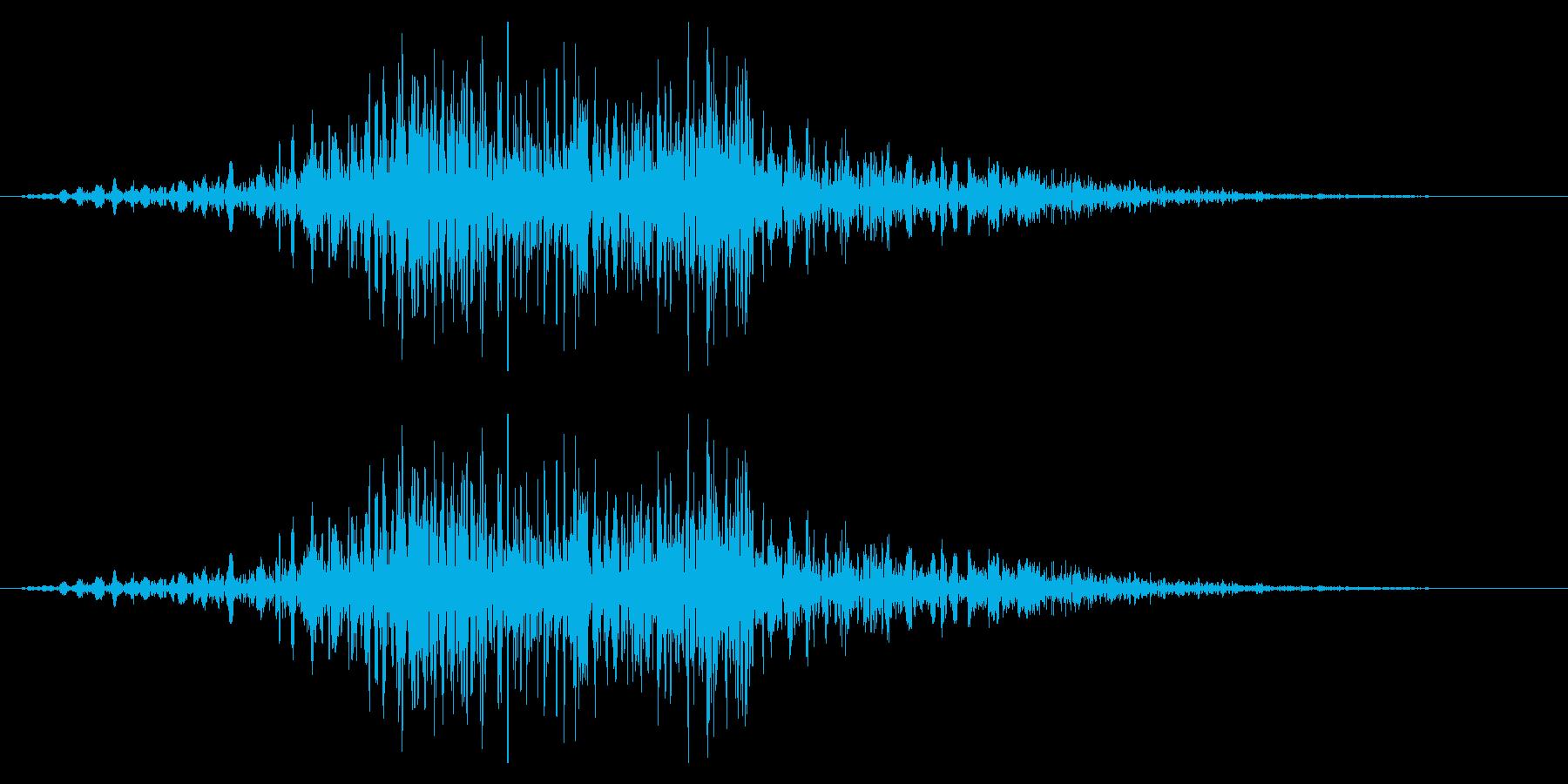 フライングドラゴン モンスター 攻撃 中の再生済みの波形