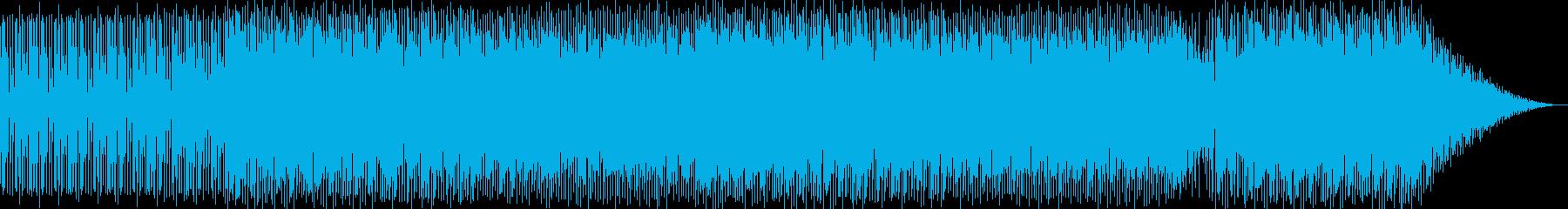 報道BGMの再生済みの波形