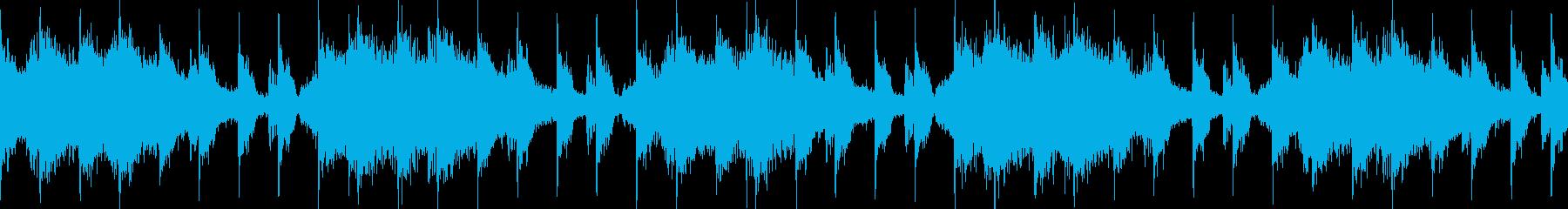 緊張・不安・緊迫・ループの再生済みの波形