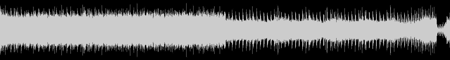 【メロなし/ループ】激しいロックアンセムの未再生の波形