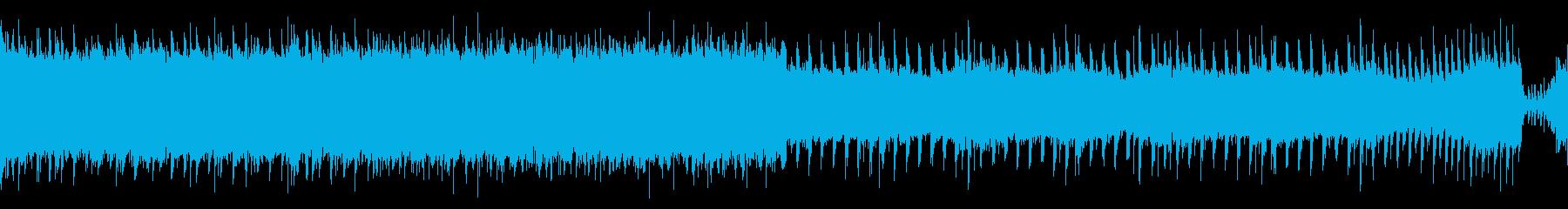 【メロなし/ループ】激しいロックアンセムの再生済みの波形