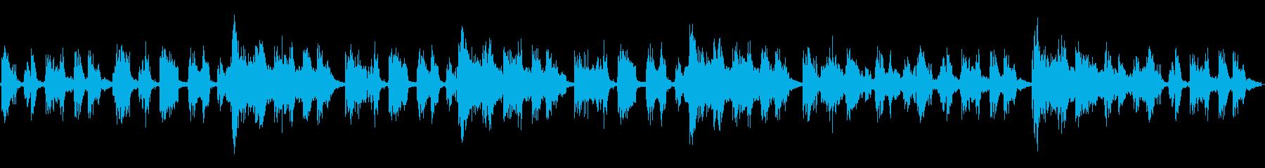 ブレイクループでRPGを引き立たせる楽曲の再生済みの波形