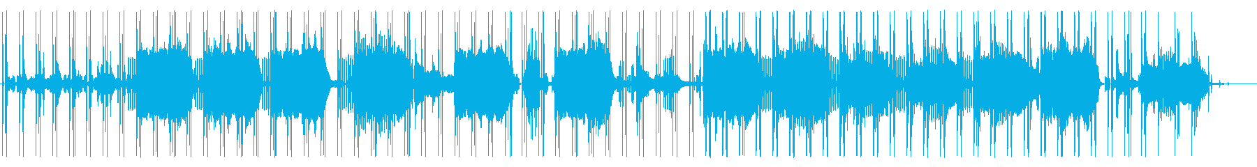 ピアノが印象的なアブストラクトビートの再生済みの波形