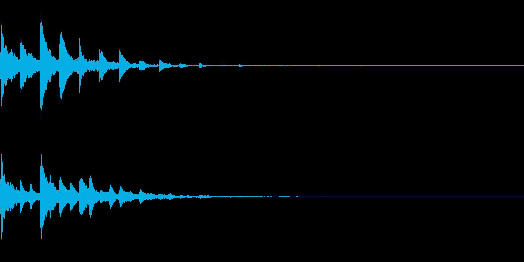 ピポパポ(テクノ/癒し系/ファミコン綺麗の再生済みの波形