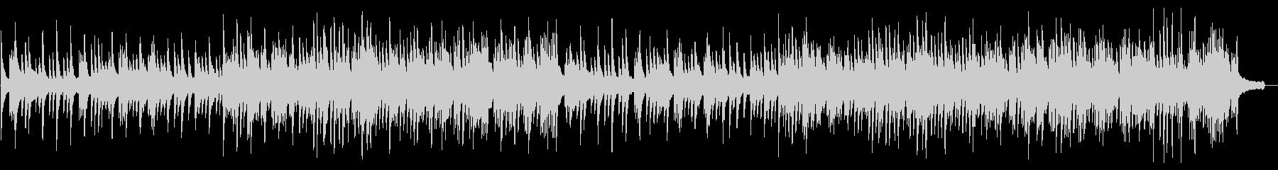 ラウンジ向きカノンをモチーフのピアノソロの未再生の波形