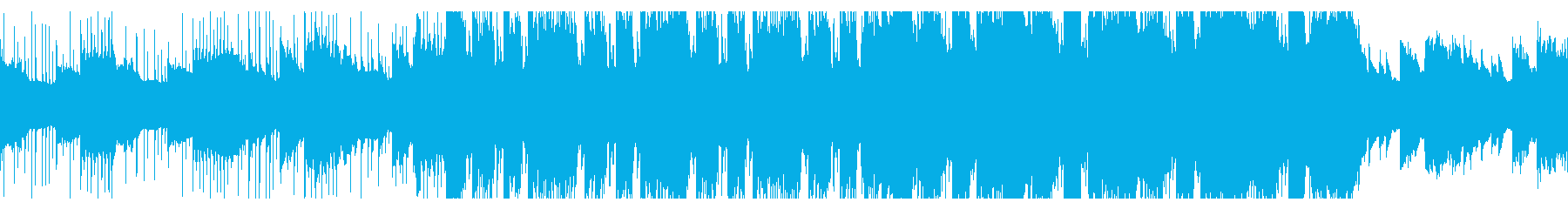 清涼感のあるオルガンPOPSの再生済みの波形