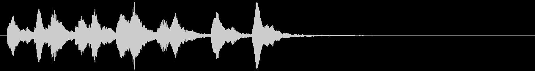 のほほんジングル033_コミカル+3の未再生の波形