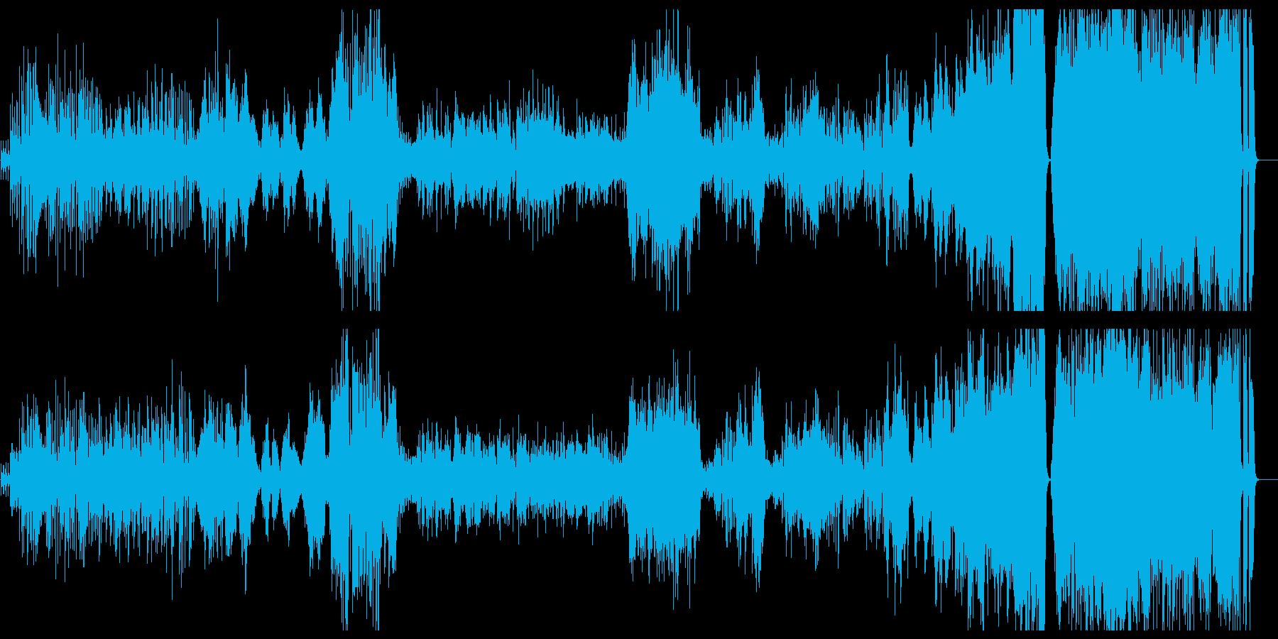ラヴェル クープランの墓6 トッカータの再生済みの波形