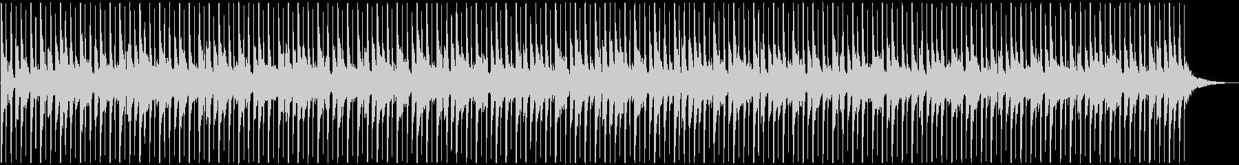 1分間のシンキングタイム向け楽曲の未再生の波形
