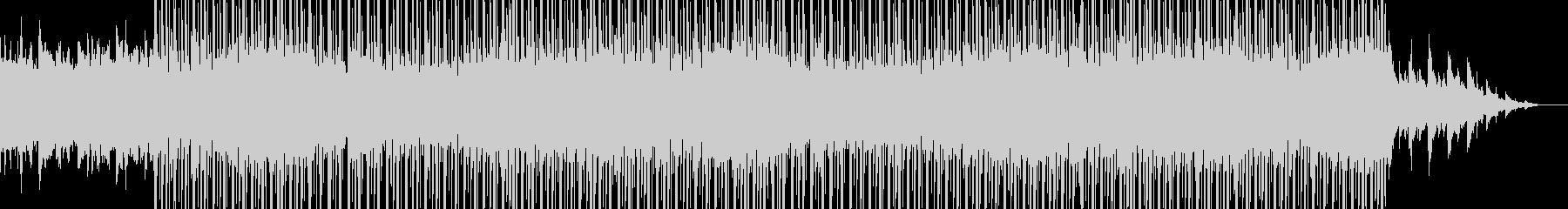 壮大なトラップビートの未再生の波形