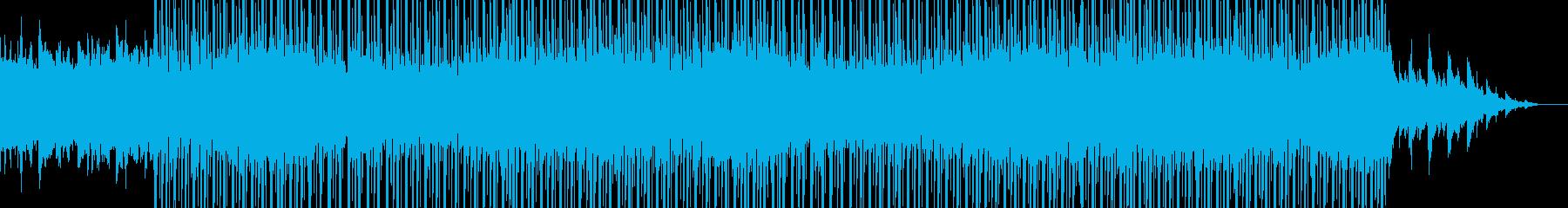 壮大なトラップビートの再生済みの波形