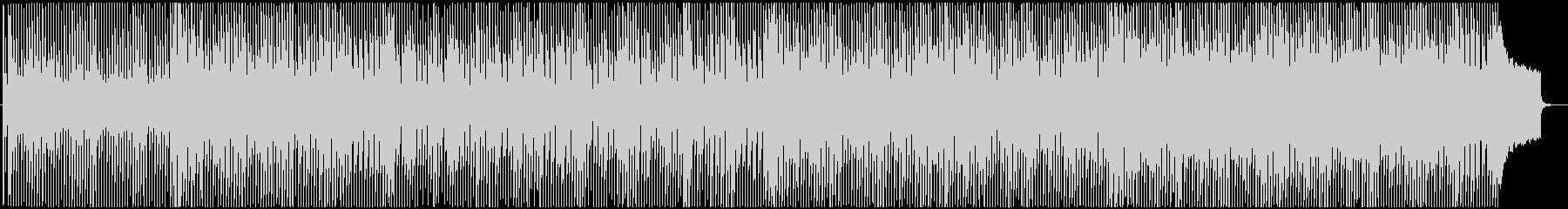 アニメチック可愛らしい前向きなポップスの未再生の波形