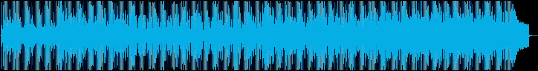アニメチック可愛らしい前向きなポップスの再生済みの波形