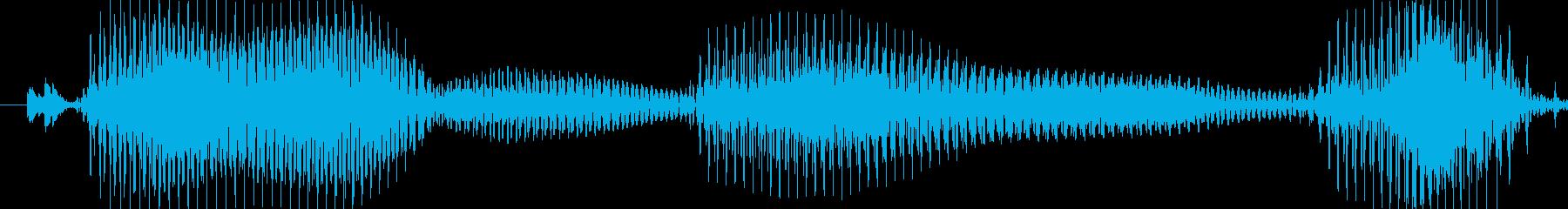 こんばんは!の再生済みの波形
