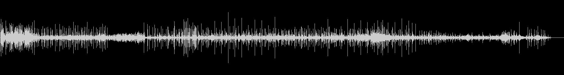 ドラム-ストリートミュージシャンの未再生の波形