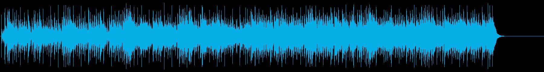 番組エンディング風爽快なポップの再生済みの波形
