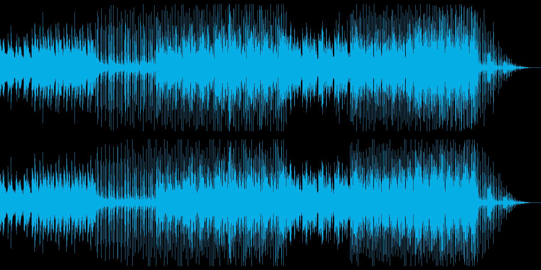 EDMトロピカルハウス 哀愁のある雰囲気の再生済みの波形