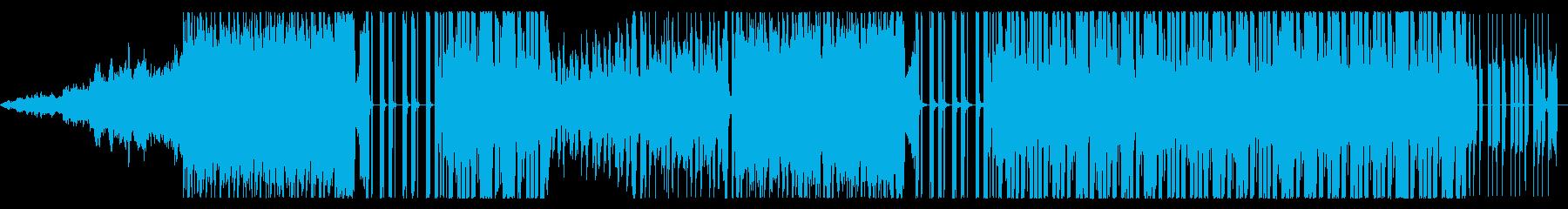 おしゃれなアシッド系FutureBassの再生済みの波形