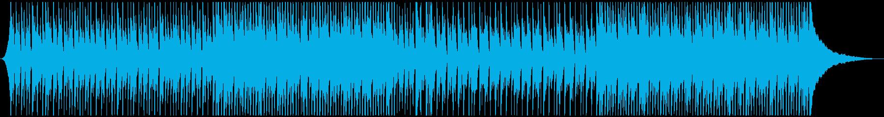 ピチカートとウクレレのかわいいポップの再生済みの波形