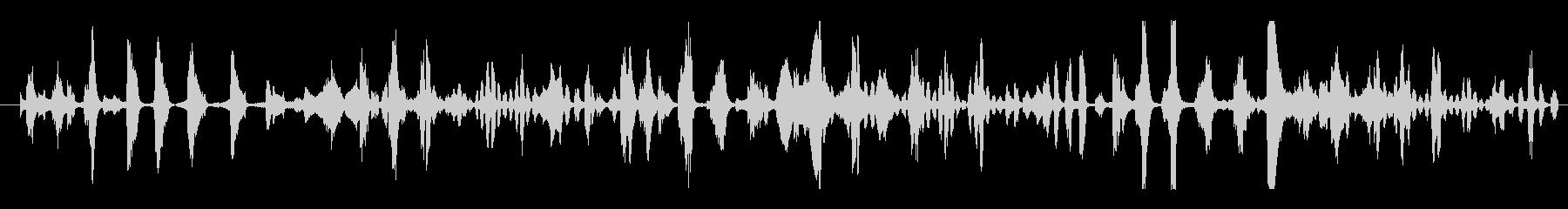 フィクション エイリアン 未知の種01の未再生の波形