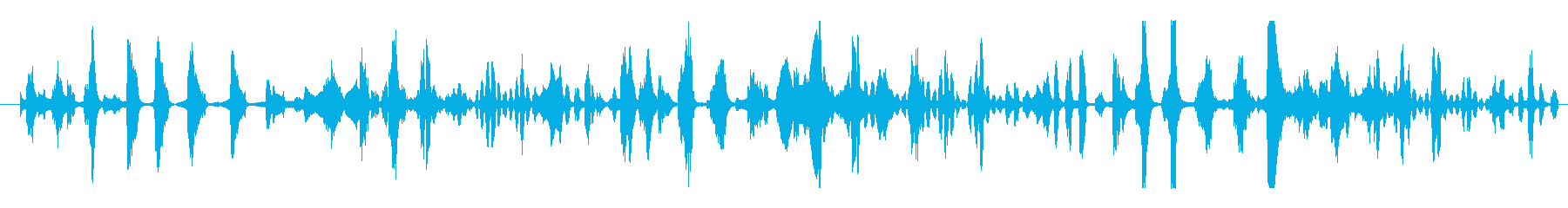 フィクション エイリアン 未知の種01の再生済みの波形