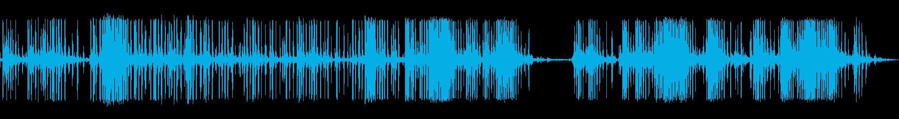 ホイール大クリックの再生済みの波形