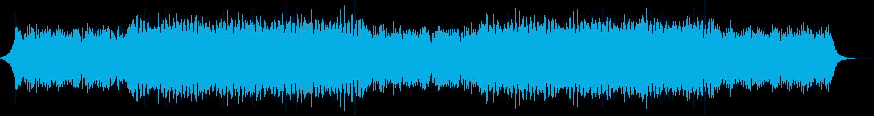ピアノ・都会・感動的・明るいBGMの再生済みの波形