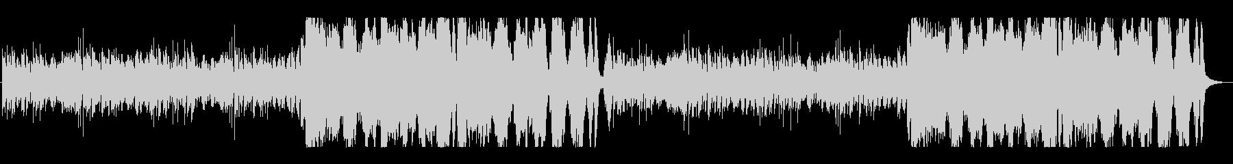 ゲーム音楽風(ダンジョンなど)の未再生の波形