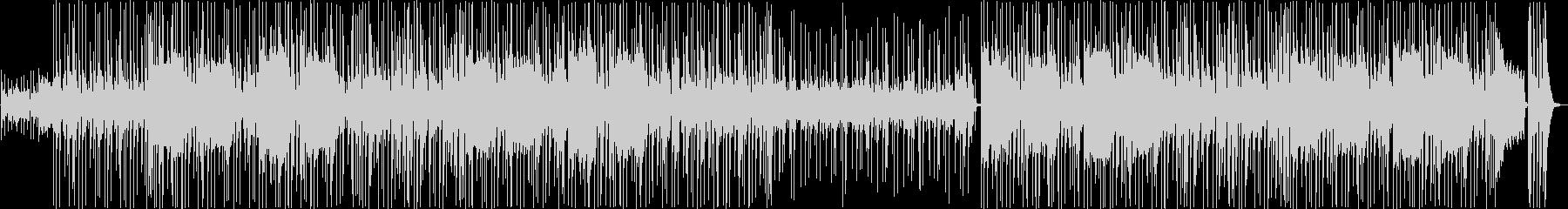 少しレトロでリズミカルなジャズファンクの未再生の波形