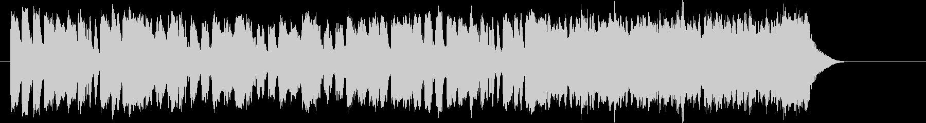 オープニング 優雅 伝統的 CM PRの未再生の波形