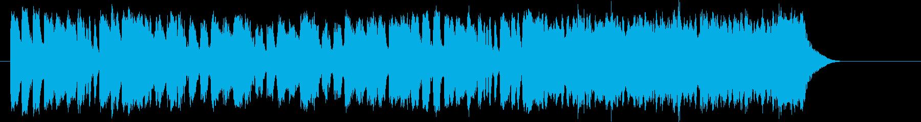オープニング 優雅 伝統的 CM PRの再生済みの波形
