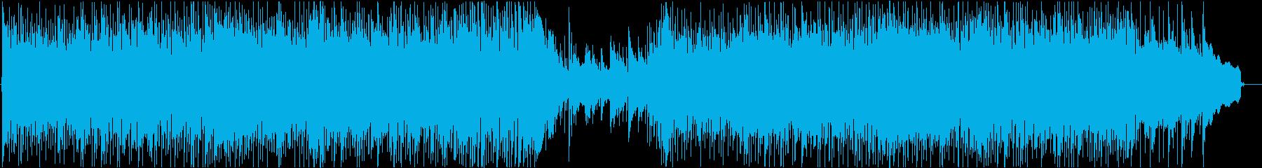 生演奏アコギインスト、爽やか-短縮版-の再生済みの波形