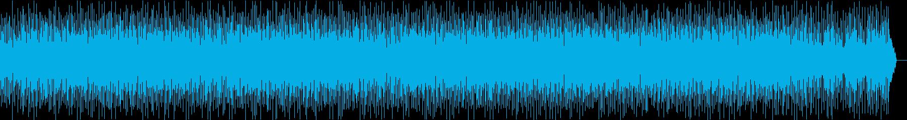 ほのぼの散歩したくなる音楽の再生済みの波形