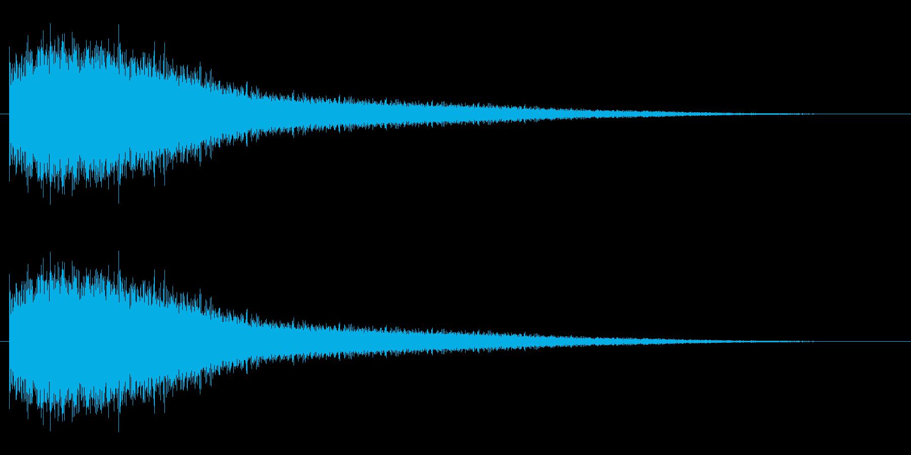 機械 アトナルリズムライザーショート02の再生済みの波形