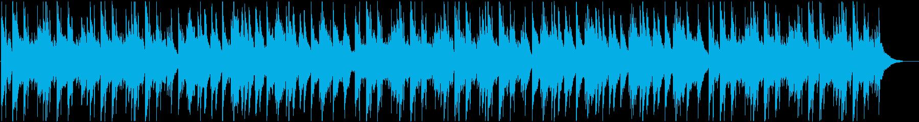 静かで優しいアコースティック曲 aの再生済みの波形