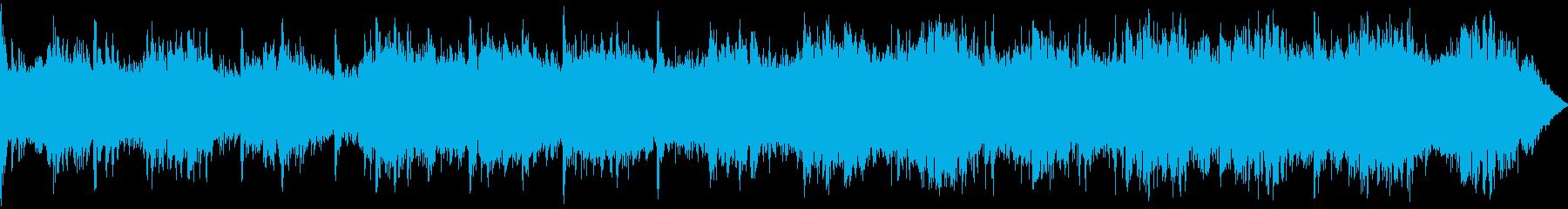 モダン テクノ アンビエント ファ...の再生済みの波形