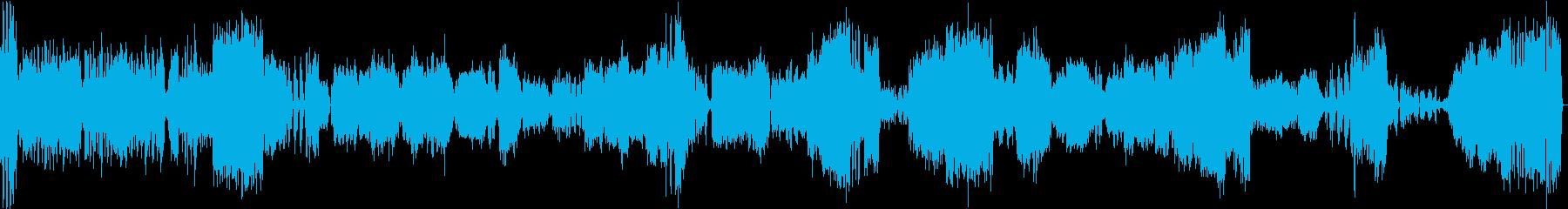 ピアノ協奏曲1番(チャイコフスキー)の再生済みの波形