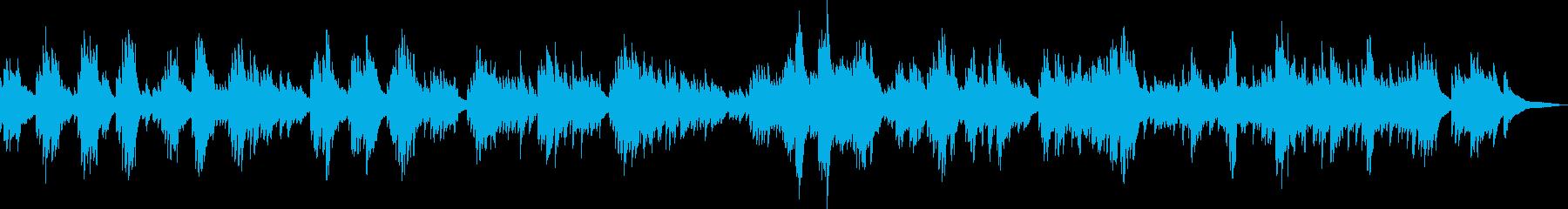 小さな幸せ(ピアノ・優しい・感動)の再生済みの波形