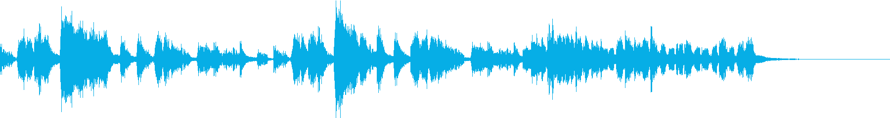 劇伴用~トランペットによる短いフレーズ~の再生済みの波形