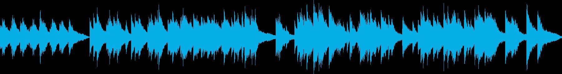 ピアノ演奏(ループ)希望・誕生・キラキラの再生済みの波形