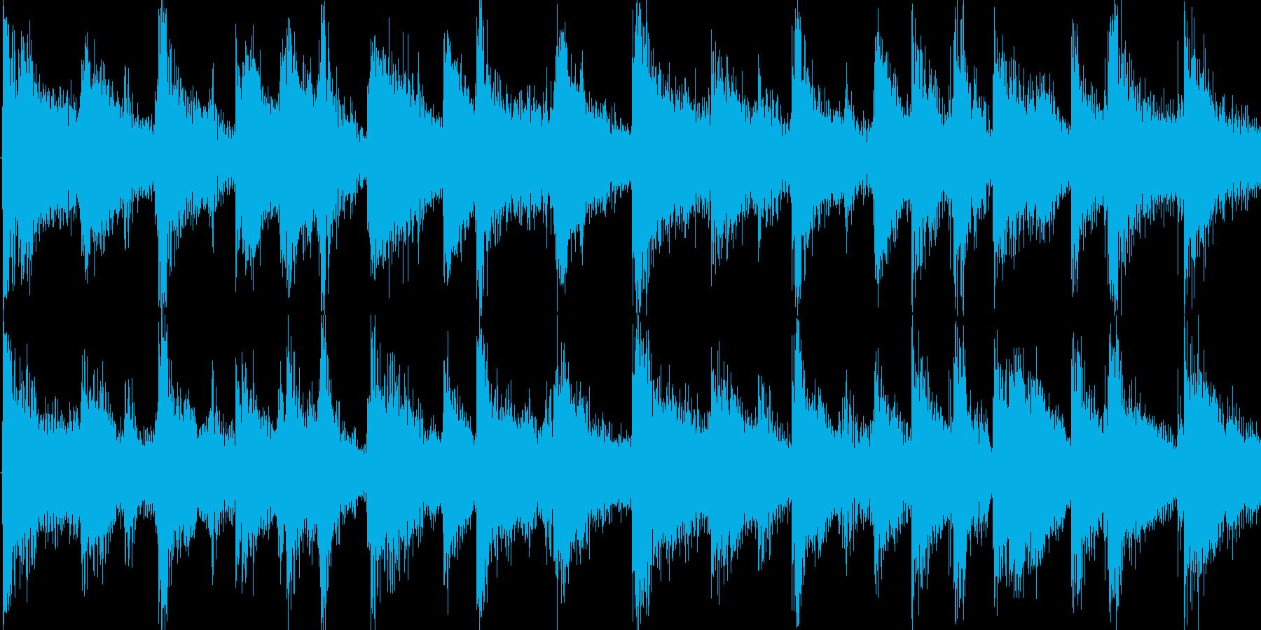 カーニバル サンバ ラテン Loop素材の再生済みの波形