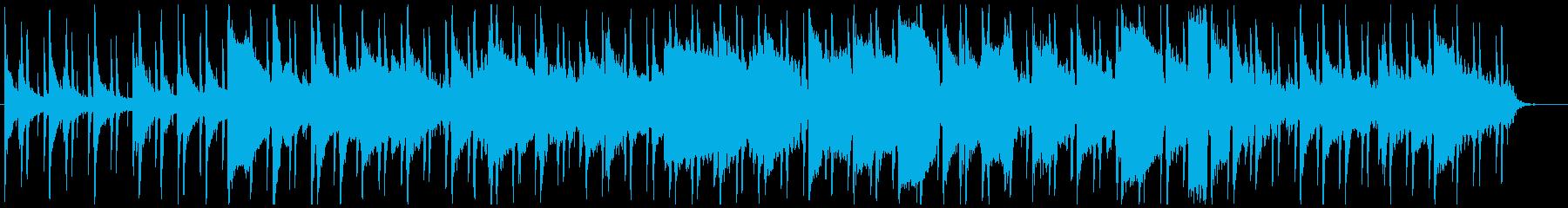 ゆったりとした時間に フルートの音色の再生済みの波形