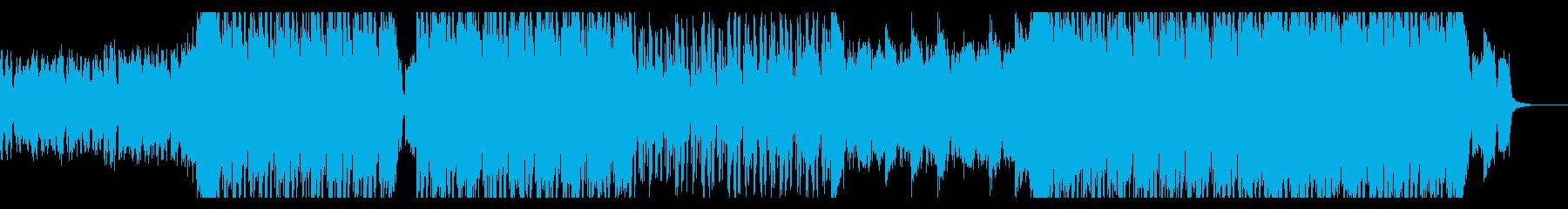 壮大で緊迫感のあるヒップホップの再生済みの波形