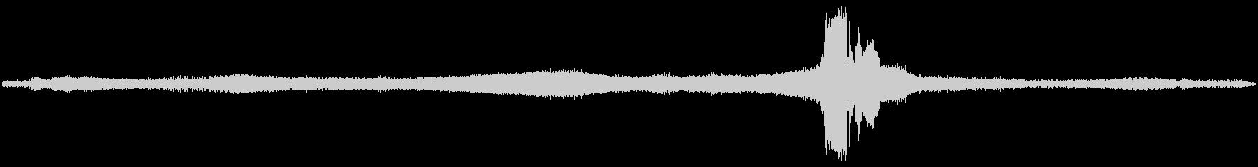 ビンテージ 車 シボレー57加速フ...の未再生の波形