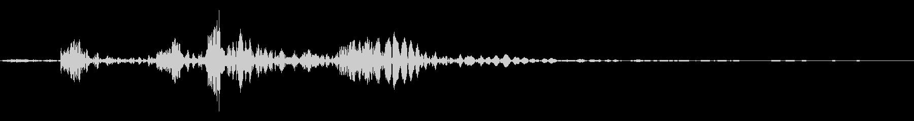 ライトボディフォールグリッティウッ...の未再生の波形