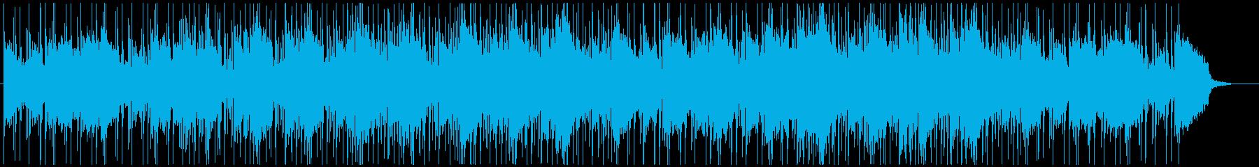 やさしい雰囲気のチル系のヒップホップですの再生済みの波形