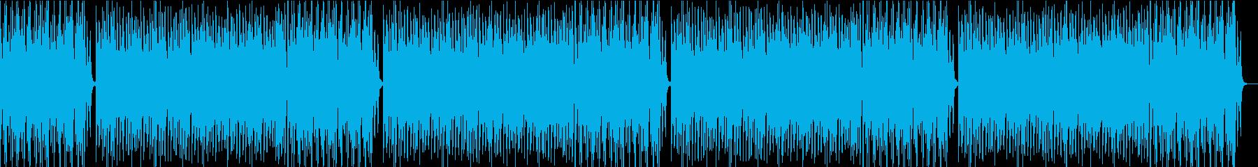 コミカルオーケストラの再生済みの波形