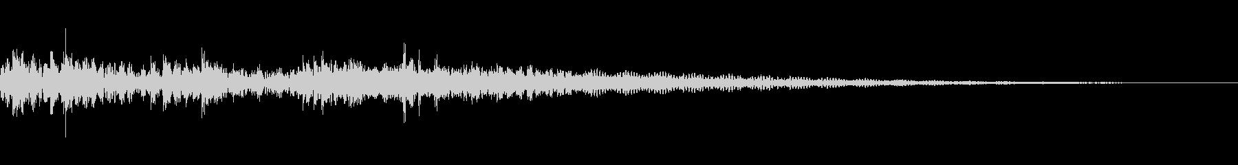 ドドンガドンドンドンの未再生の波形