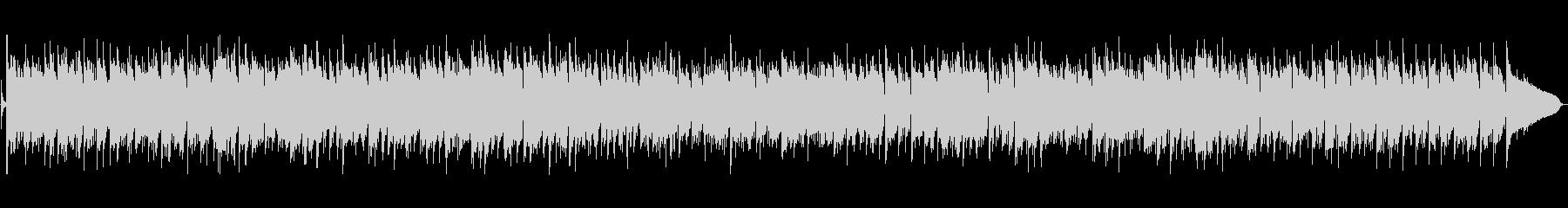 ピアノが特徴的なボサノバの未再生の波形